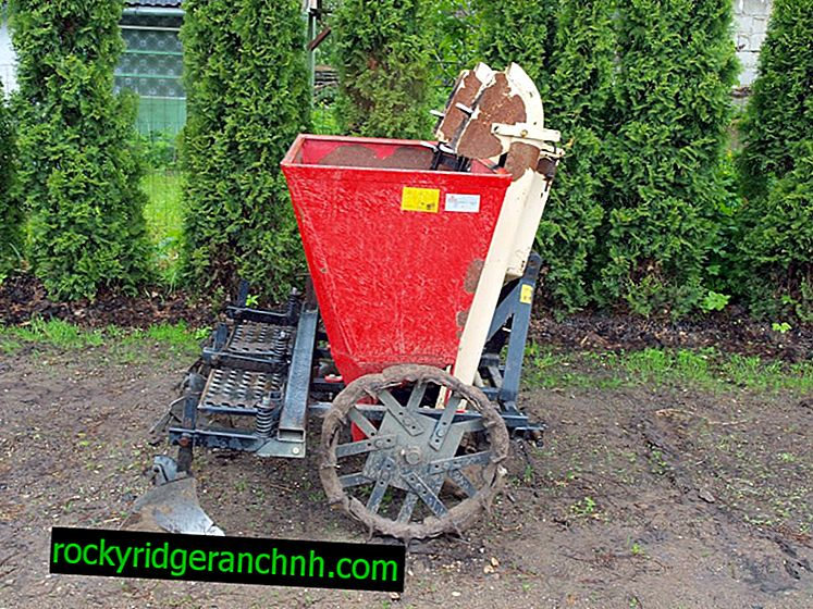 Potato planter for centaur walk-behind tractor