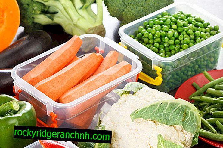 Regler for lagring av gulrøtter om vinteren