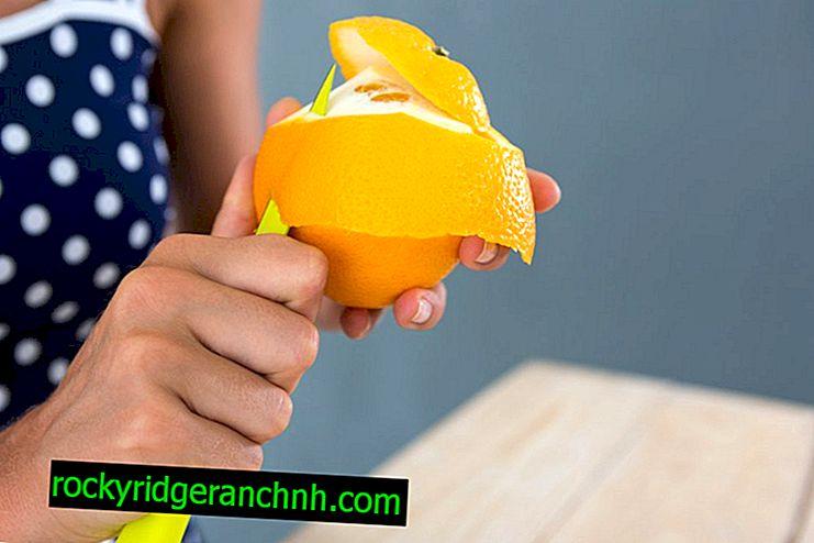 วิธีปอกเปลือกส้ม