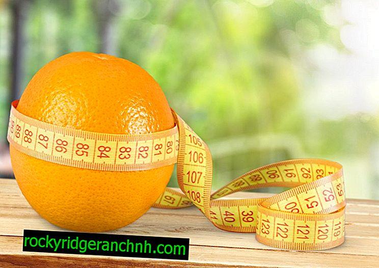 Як схуднути на апельсинової дієті